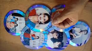how to make a photo frame outs of waste cds make dvd photo fram art craft