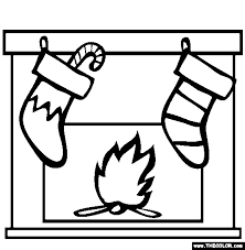 Small Picture Christmas Coloring Pages Of Stockings Coloring Pages