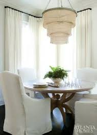 our patricia chandelier stealing the show in this dining e featured in atlanta homes lifestyles magazine it adds the perfect touch of texture in