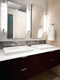 Modern Mirrored Bathroom Vanity