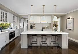 Beautiful hampton style kitchen designs ideas Coastal Hamptonsstylekitchenwithwhiteshakercabinetryand Tlc Interiors New Hamptons Style And How To Rock It Yourself At Home