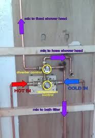 delta three way diverter valve 3 way shower shower valve with bathroom installation in delta 3 delta three way diverter valve