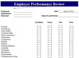 Templates For Performance Appraisals - April.onthemarch.co