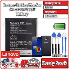 Original Lenovo Golden Warrior A8 A806 ...