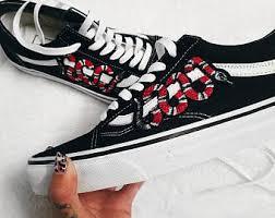 gucci vans custom. customized vans shoes gucci custom