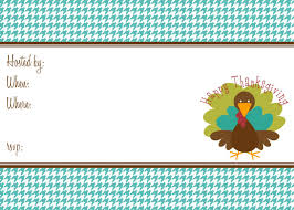 Free Online Thanksgiving Invitations Free Thanksgiving Party Printables From The Paper Dolls