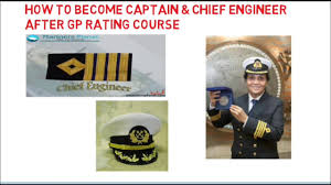 Gp Rating Career Flow Chart How To Become Captain Or Chief Engg After Gp Rating Course