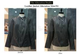 leather jacket alteration city hall mrt