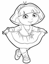 Small Picture Emejing Dora Coloring Picture Ideas New Printable Coloring Pages