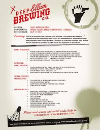 Career Opportunity Deep Ellum Brewing Co