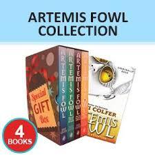 artemis fowl 4 books collection set artemis fowl artemis fowl and the atlantis plex gift wrapped slipcase special