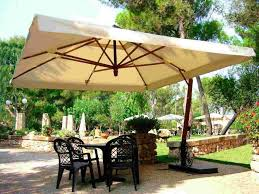 patio table umbrella large