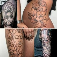 тату лотос значение и эскизы татуировок с лотосом Tattoo Ideasru