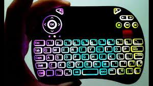 <b>Rii</b> NEW <b>X8</b> Mini Backlit Wireless + Scroll & <b>Rii</b> Slim Full Sized ...