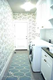 laundry room runner laundry room rug runner blue trellis design ideas rugs miles hummingbird laundry room
