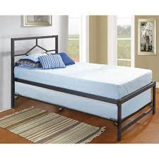 Twin Platform Bed With Trundle Metal Twin Bed Ideas Twin