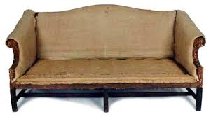 18th C English Chippendale Mahogany Camel Back Sofa  For Sale Camelback Sofas For Sale54