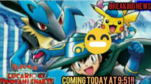 Pokémon Movie!! Lucario ki toofani shakti !! #shorts - YouTube