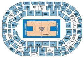 Simplefootage Oklahoma City Thunder Seating Chart