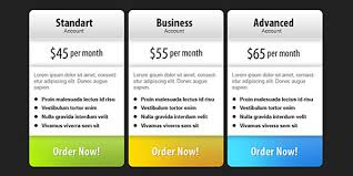 Pricing Template 37 Free Pricing Table Psd Templates Smashfreakz