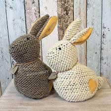 Cute Bunny Rabbit Heart Door Stop Stopper Animal Wedge Decorative Home Decor