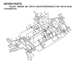 husqvarna crt 51 hacrt51e 954000692 cultivator transmission spare husqvarna crt 51 hacrt51e 954000692 cultivator transmission spare parts diagram