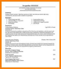 clerical skills resume