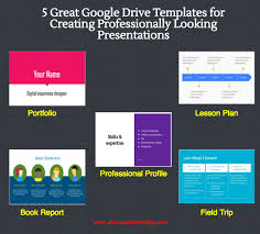 Google Slides Book Template 5 Great Google Drive Templates For Creating Professionally