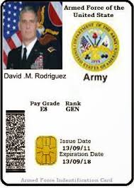 Id Card Military Spot To How A Fake