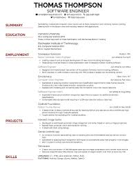Resume Text Size Simple Creddle