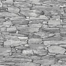 Behang Dutch Wallcoverings Royal Dutch 8 Collage Stenen Grijs 42508