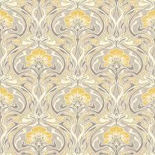 crown floral nouveau wallpaper m1195  on art deco wallpaper uk with crown flora nouveau wallpaper m1195