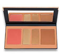 beauty glazed eyeshadow palettes highlight and contour press powder 4 colors eye shadow powder make up