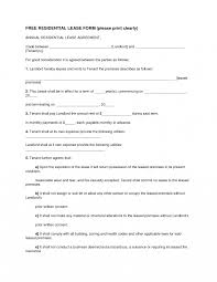 Free Copy Rental Lease Agreement Printable