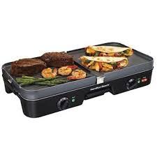 best multi tasker hamilton beach 3 in 1 grill griddle