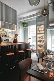 metal clad restaurant interiors