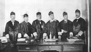 「John Jay to be chief justice. He was joined by John Rutledge, William Cushing, John Blair, Robert Harrison, and James Wilson.」の画像検索結果