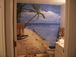 Beach Style Bathroom Decor Bathrooms On Pinterest Beach Bathrooms Beach Themed Bathroom Decor