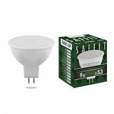 <b>Лампа светодиодная SAFFIT</b> SBMR1609 MR16 GU5.3 9W 2700K ...