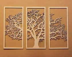 wooden wall art tree of life