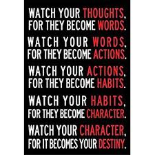 office motivational posters. Plain Motivational Watch Your Thoughts Poster Decor For Classroom Office Motivational Posters  13x19 Inch Throughout Office Posters
