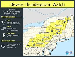 Severe thunderstorm watch issued in ...