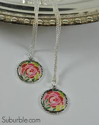 easy diy pendant and necklace suburble