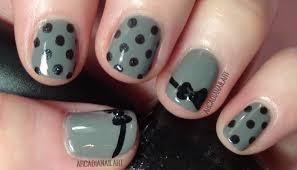 Simple Polka Dots Nail Art Designs - Best Nail Ideas