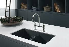 Black Undermount Kitchen Sinks Kohler Granite Kitchen Sinks Undermount Best Free