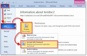 Encrypted Excel Files How To Password Protect And Encrypt Microsoft Office 2010
