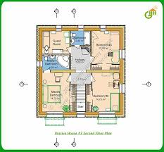passive house plans. Green Passive Solar House #3 Second Floor Plan, Home Plans K