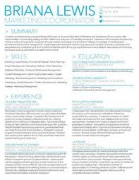 ideas about marketing resume on pinterest   resume download    briana lewis     resume by briana lewis  via behance  marketing coordinator in the orange