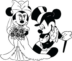 Mickey And Minnie Mouse Coloring Pages To Print Baby Coloring Pages