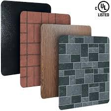 fireplace heat shield wall fireplace design images
